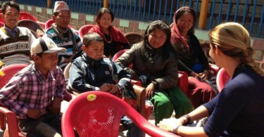 Ninos-tibetanos-en-Nepal