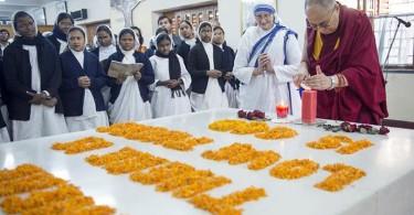 Dalai-Lama-en-Calcuta
