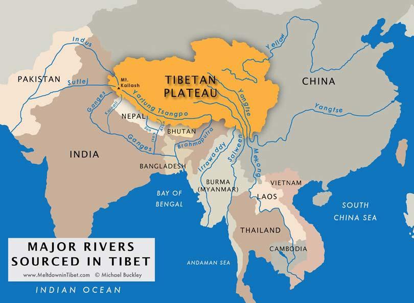 Principales-rios-del-Tibet