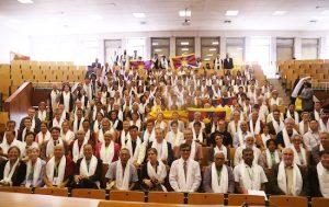 Delegados de grupos de apoyo en la septima conferencia internacional de grupos de apoyo al tibet en bruselas