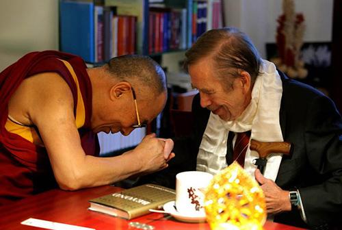 Havel-dalai-lama