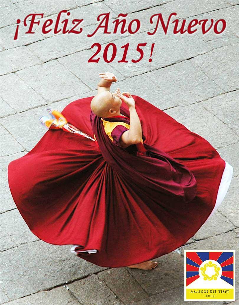 Feliz Año Nuevo 2015 Amigos del Tíbet Chile