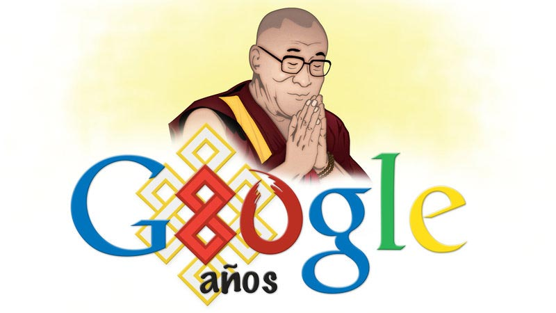 Google-Doodle-para-el-Dalai-Lama