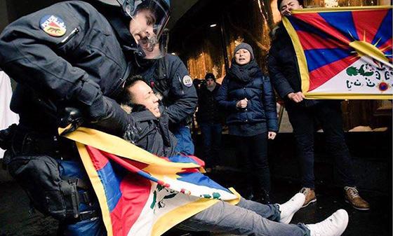 protesta_Suiza_tibet_Xi_jinping_tibetanos_detencion