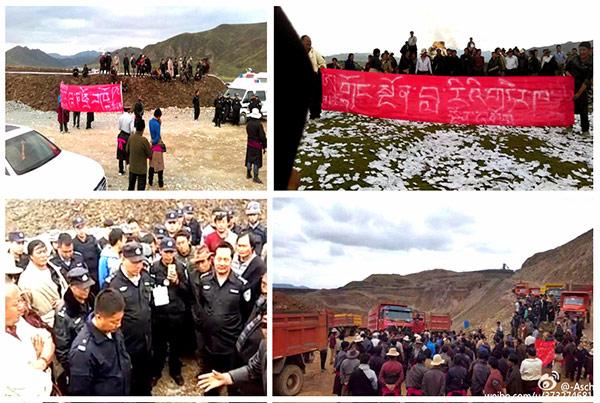 protestas-tibetanos-mineria-tibet