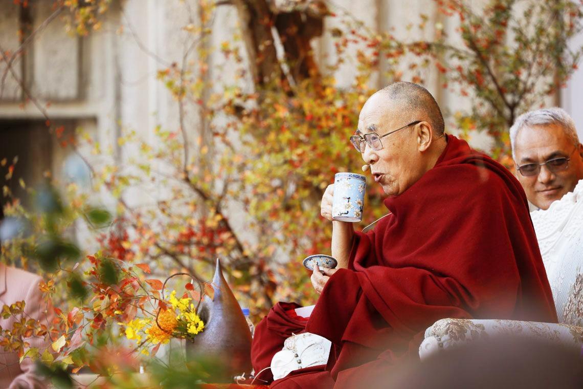 dalai lama charla en japon